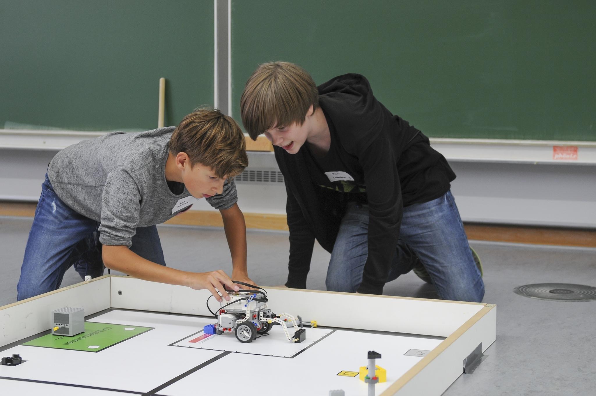zdi-Roboterwettbewerb 2018 – Lokalwettbewerb Wuppertal